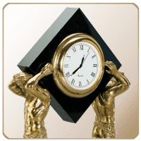 Настольные и каминные часы