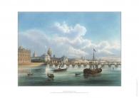 Набор подарочных иллюстрация Дворцовый мост