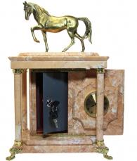 """купить Часы-сейф """"Лошадь"""""""