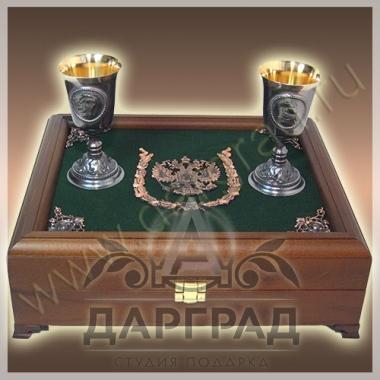 "Набор для водки ""Императорский"" фото 2"