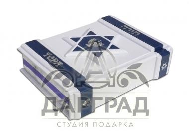 Подарочное издание «Тора» (кожа) с доставкой по России