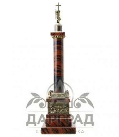 Купить Александровская колонна из обсидиана в Санкт-Петербурге