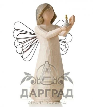 Купить Фигурка «Ангел надежды» (Willow Tree) в интернет магазине подарков Дарград