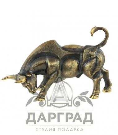 Авторская статуэтка «Бык» в магазине подарков Дарград