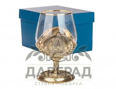 Подарочный Бокал для крепких напитков «Санкт-Петербург» купить в магазине Дарград