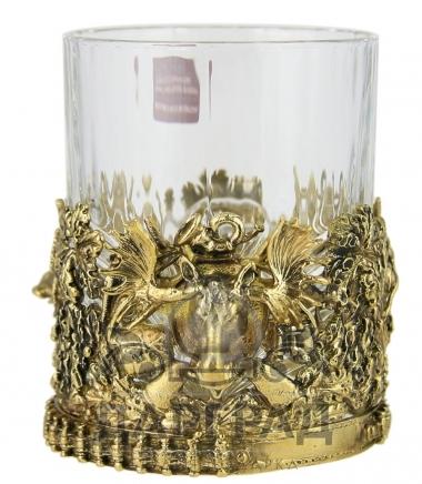 подарочный бокал для виски охотнику