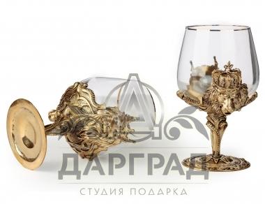 заказать Бокал для крепких напитков «Царь зверей» в магазине дарград