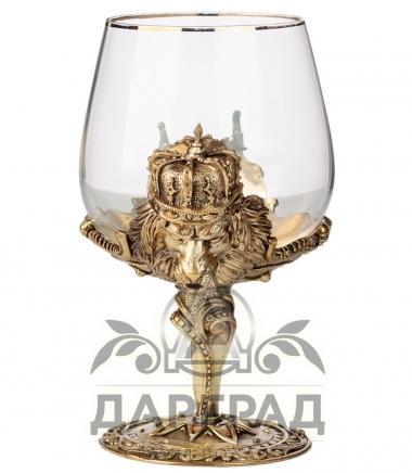 Бокал для крепких напитков «Царь зверей» в магазине подарков дарград
