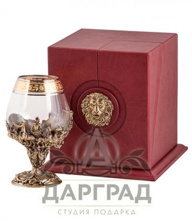 Купить Бокал «Монарх» в подарочной коробке в магазине подарков Дарград
