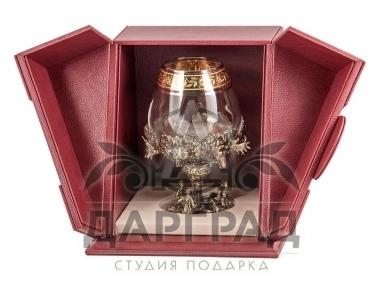 Бокал «Охотники» в подарочной коробке в магазине подарков Дарград