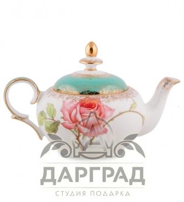 """Чайный набор """"Миланская роза"""" в магазине подарков в СПб"""