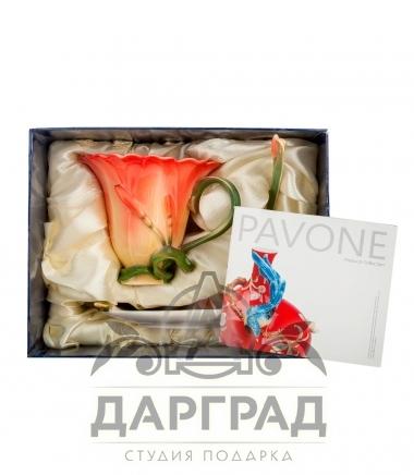 Чайная пара «Лилия» в подарок женщине