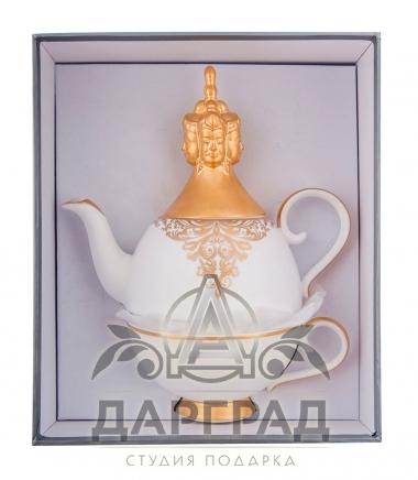 Чайный набор «Гармония» в подарок коллеге