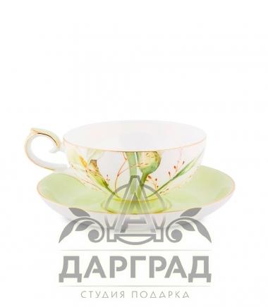Чайный набор «Калла» подарок на 8 марта