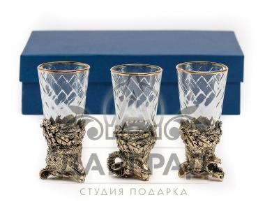 Купить в Петербурге Набор стопок «Дикие звери»