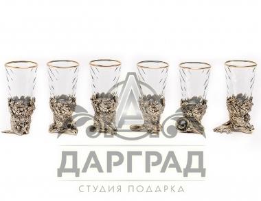 Набор стопок Дикие звери в магазине подарков Дарград