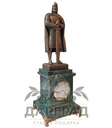 Купить Кабинетные часы Александр Невский военному дарград