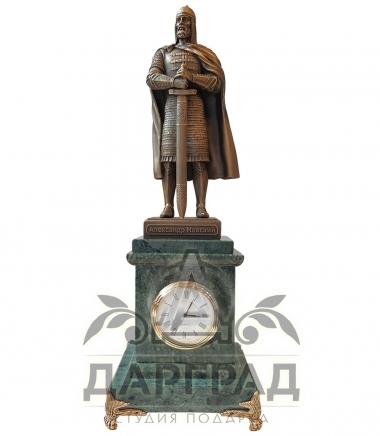 Кабинетные часы Александр Невский в магазине подарков Дарград