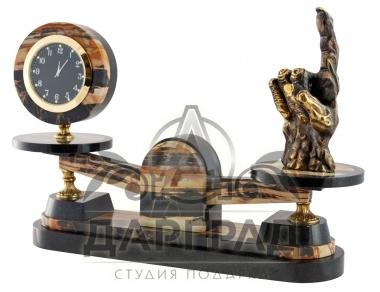 Настольные часы Должок в подарок мужчине