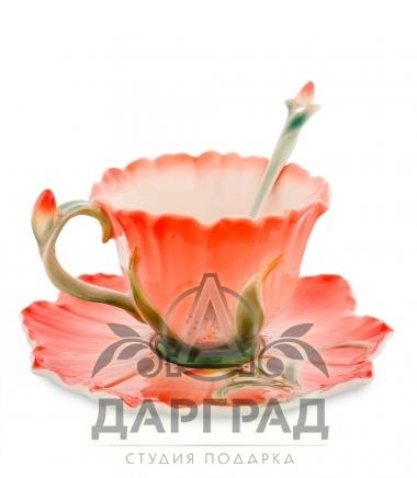 Чайная пара «Гентиана» в подарок женщине
