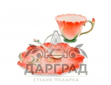 Чайная пара «Гентиана» подарок на новый год