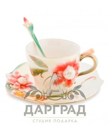 подарочная Чайная пара «Георгин»