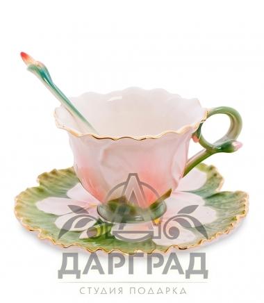 подарочная Чайная пара «Герань»
