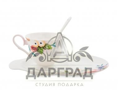 чашки с блюдцем «Королева Камилла» подарочный вариант
