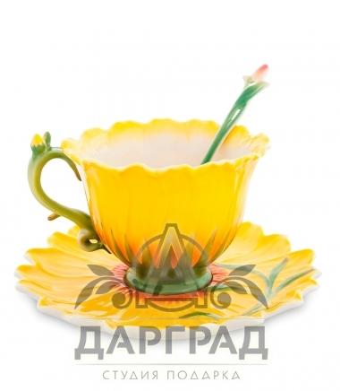 подарочная Чайная пара «Подсолнух»