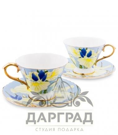 Чайный набор «Ирисы» на две персоны