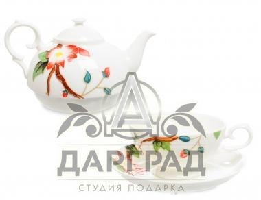Чайный набор «Райская птица» от итальянского бренда Pavone