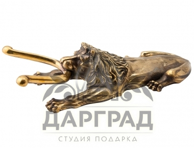 Приспособление для снятия обуви «Лев» в подарок для мужчины на юбилей