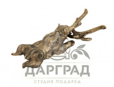 Приспособление для снятия обуви «Медведь» в подарок руководителю