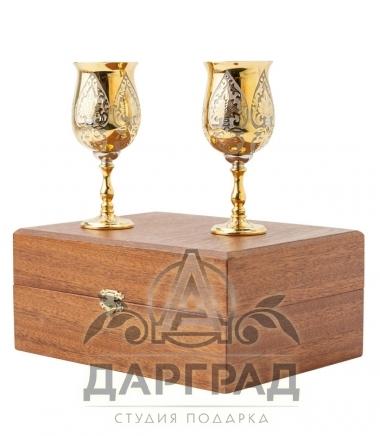 Купить Набор из 2-х стопок (Златоуст) в магазине подарков Дарград