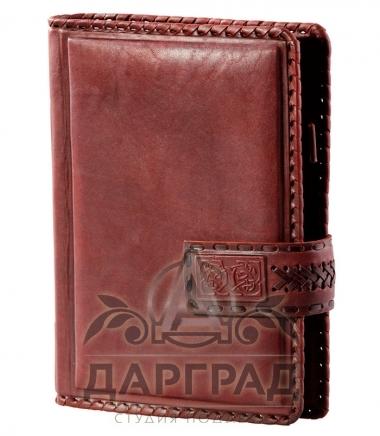 Купить Кожаный ежедневник «Бизнес» в подарок мужчине