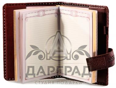 Заказать подарок Кожаный ежедневник «Бизнес»