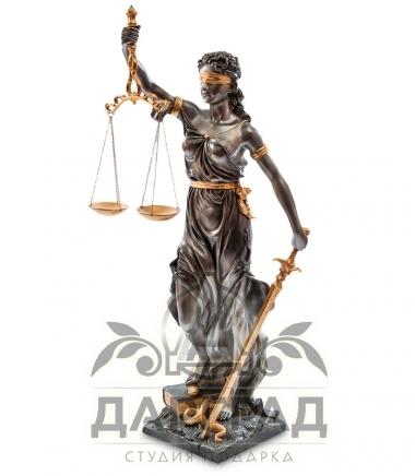 Статуэтка «Фемида» подарок судье в СПб купить