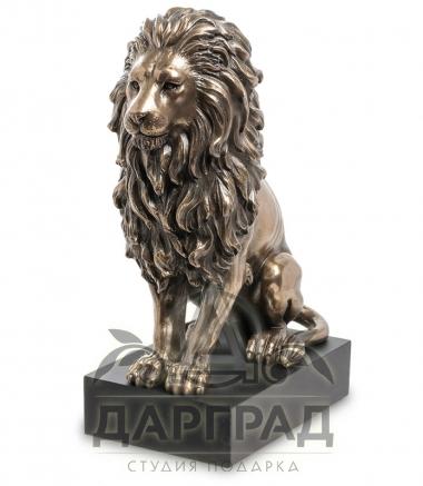 """Купить Статуэтка """"Лев"""" (сидит) в подарок мужчине льву"""