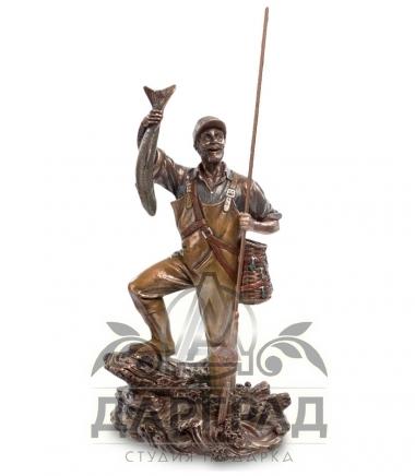 Фигурка «Рыбак» в подарок рыболову