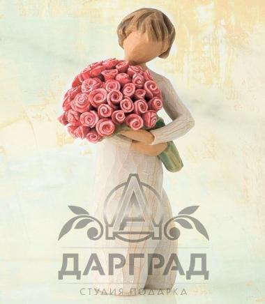 Купить Willow Tree Фигурка «Столько любви» в подарок девушке
