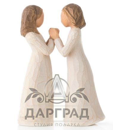 """купить Фигурка """"Сестры по сердцу"""" (Willow Tree) в подарок сестре"""
