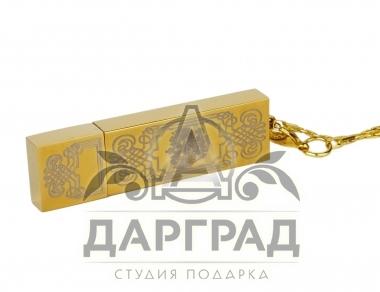 Подарочная флешка «Герб РФ» Златоуст деловой подарок