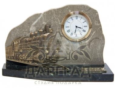 Настольные часы «Железнодорожные»