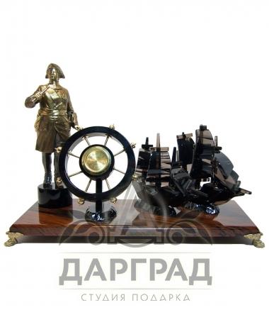 """Купить Настольные часы """"Императорский флот"""" в подарок"""