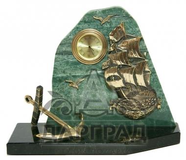 Купить Настольные часы «Адмиралтейские» в подарок моряку
