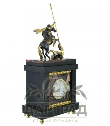 Купить Кабинетные часы «Георгий Победоносец» в кабинет руководителю