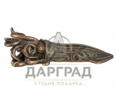 Интерьерный подарок Приспособление для снятия обуви «Кальмар»