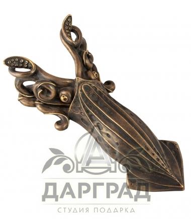 Купить Приспособление для снятия обуви «Кальмар» из бронзы