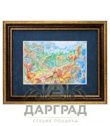 Купить Объемная карта России в интернет магазине подарков