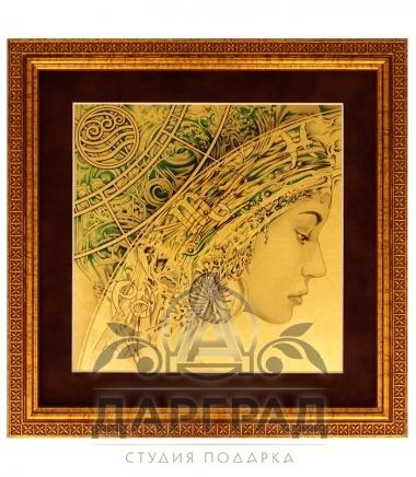 "Картина на золоте ""Четыре стихии"" (комплект) Вода"